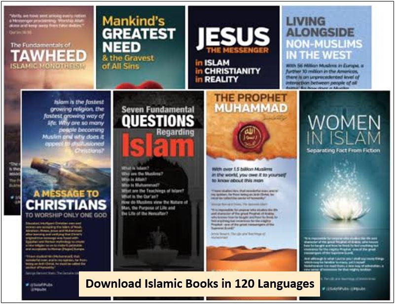 Download Islamic Books in 120 language